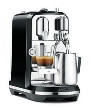 ihocon: Breville Nespresso Creatista Single Serve Espresso Machine with Milk Auto Steam Wand, Black