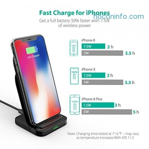 ihocon: RAVPower Fast Wireless Charger快速無線充電器
