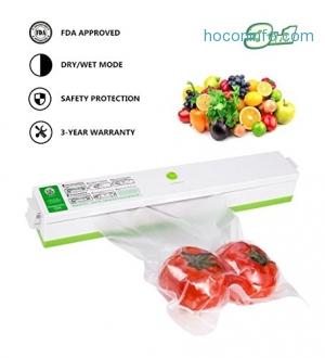ihocon: KITASST Vacuum Sealer Machine食物保鮮真空機
