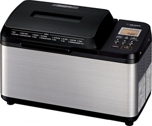 ihocon: Zojirushi BB-PDC20BA Home Bakery Virtuoso Plus Breadmaker 2 lb. loaf of bread Stainless Steel/Black  象印麵包店