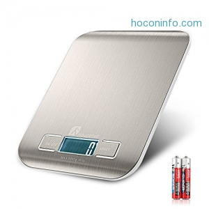 ihocon: Houzetek Multifunction Food Scale不銹鋼廚用電子秤