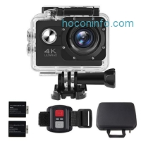 ihocon: ALOFOX 4K Action Camera 16MP WiFi Waterproof Sports Camera防水運動相機