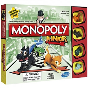 ihocon: Hasbro Monopoly Junior Board Game
