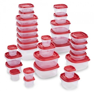 ihocon: Rubbermaid 2065351 Easy Find Lids Food Storage Containers, 60 Piece食品保鮮盒