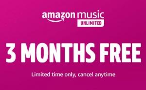 [超讚] 免費3個月 Amazon Music Unlimited