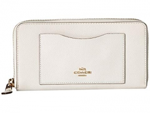 ihocon: COACH Crossgrain Leather Accordion Zip Wallet 女士皮夾