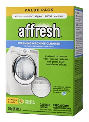ihocon: Affresh Washer Machine Cleaner, 6-Tablets, 8.4 oz 洗衣機清潔劑