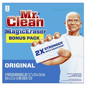 Mr. Clean Magic Eraser 魔術清潔海棉 8個 $4.89(原價$7.55, 35% Off)