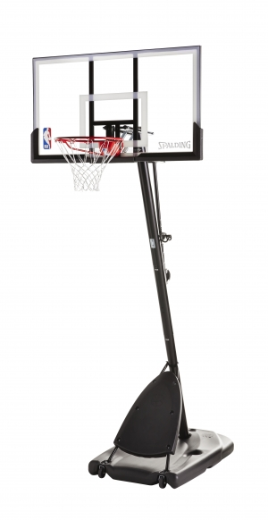 ihocon: Spalding NBA 54 Portable Angled Basketball Hoop with Polycarbonate Backboard