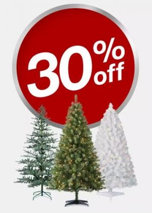Target: Christmas Trees聖誕樹 30% off, 免運