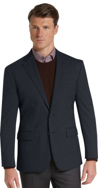 ihocon: Travel Tech Collection Slim Fit Check Sportcoat