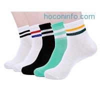 ihocon: Lafangee Athletic Socks 5-Pack 襪子