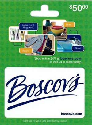 ihocon: $50 Boscovs Gift Card只賣$40