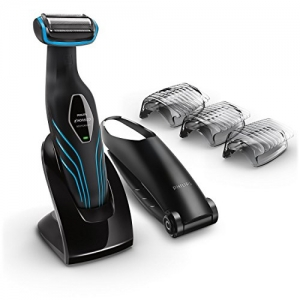 ihocon: Philips Norelco Bodygroom Series 3100, Shave and trim with back attachment, BG2034 飛利浦電動剃鬍/修容刀