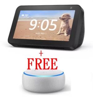 買 Amazon Echo Show 5 就送Amazon Echo Dot (第3代)