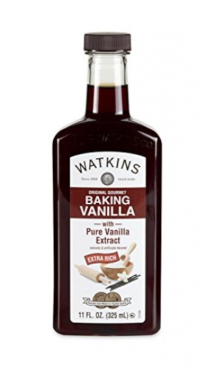 ihocon: Watkins Original Gourmet Baking Vanilla Extract, with Pure Vanilla Extract, 11 Ounce烘培用香草精