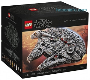 ihocon: LEGO Star Wars Ultimate Millennium Falcon 75192 Building Kit (7541 Pieces)