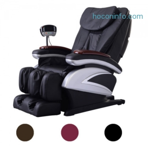ihocon: Full Body Shiatsu Heat Massage Chair全身加熱按摩椅