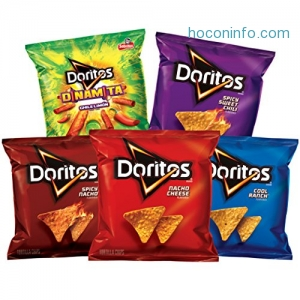 ihocon: Doritos Flavored Tortilla Chip Variety Pack, 40 Count
