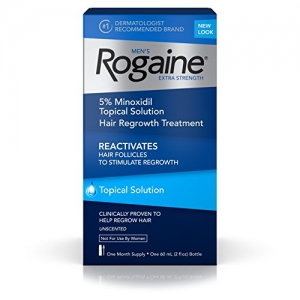 ihocon: Men's Rogaine Extra Strength 5% Minoxidil Topical Solution, 1-Month Supply男士落建生髮水