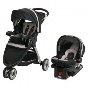 ihocon: Graco FastAction Fold Sport Click Connect Travel System 運動型嬰兒推車+嬰兒汽車座椅