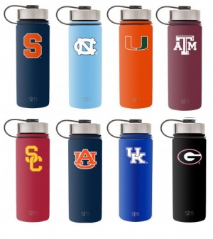 ihocon: Simple Modern Collegiate Water Bottles - Vacuum Insulated 18/8 Stainless Steel Travel Mug Thermos 美國大學不銹鋼保温水瓶 - 多校可選