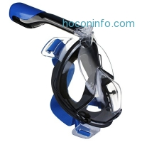 ihocon: COOFINE Full Face Diving / Snorkeling Mask全罩式浮潛面罩