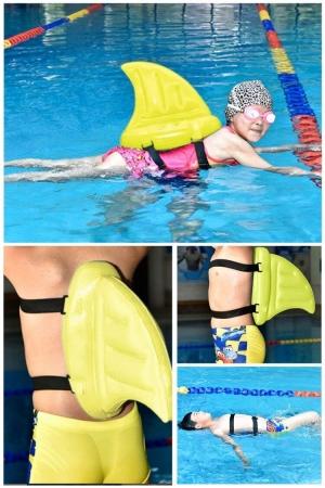 兒童游泳充氣鯊魚鮨 $6.35(原價$15.88, 60% Off)