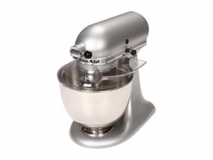 ihocon:  KitchenAid KSM150PSSM Artisan Series 5-Quart Tilt-Head Stand Mixer Silver Metallic