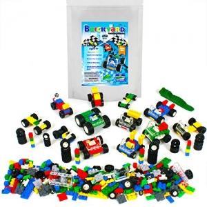 ihocon: Brickyard Building Blocks Wheels, Tires, and Axles - 459 Pieces Building Bricks組合積木
