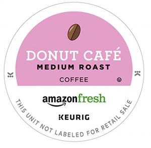 ihocon: AmazonFresh 80 Ct. Coffee K-Cups, Donut Cafe Medium Roast, Keurig Brewer Compatible