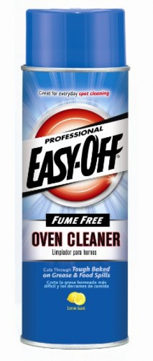 ihocon: Easy Off Professional Fume Free Max Oven Cleaner, Lemon 24 oz Can 烤箱清潔劑