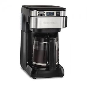 ihocon: Hamilton Beach 46310 Programmable Coffee Maker 12 Cups Black 可自訂程序咖啡機