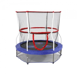 ihocon: Skywalker Trampolines Mini Trampoline with Enclosure Net  60吋彈跳床及保護網