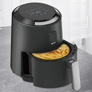 ihocon: BREVO Air Fryer with 8 Cook Presets Programmable Touch 2.7Qt 8種內訂程序, 也可自訂程序觸控式氣炸鍋