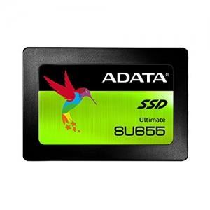 ihocon: ADATA SU655 120GB 3D NAND 2.5 inch SATA III High Speed Read up to 520MB/s Internal SSD (ASU655SS-120GT-C) [New Version]固態硬碟