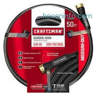 ihocon: Craftsman CM-IFMD Medium Duty 5/8 x 50' Garden Hose澆花水管