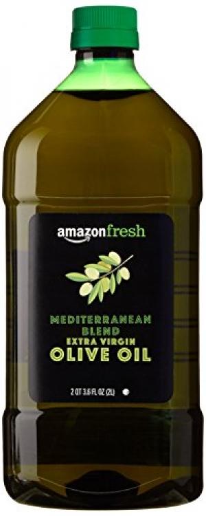 ihocon: AmazonFresh Mediterranean Blend Extra Virgin Olive Oil, 2L (2 QT 3.6 FL OZ)