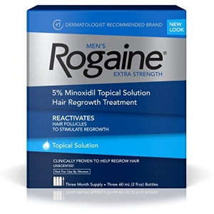 ihocon: Men's Rogaine Extra Strength, 3-Month Supply 落建男士生髮水