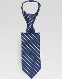 ihocon: Joseph & Feiss Boys Navy Stripe Zipper Tie 兒童領帶 - 3色可選
