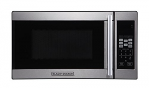 ihocon: Black + Decker 0.7 Cubic Foot 700 Watt Stainless Steel Microwave不銹鋼微波爐