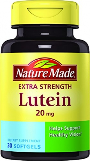 ihocon: Nature Made Extra Strength Lutein 20 mg Softgels 3 Pack 超強效葉黃素