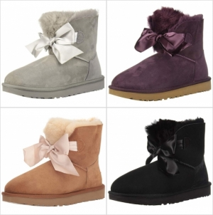 ihocon: UGG Women's W Gita Bow Mini Fashion Boot 蝴蝶結女靴