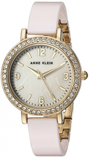 ihocon: Anne Klein Swarovski Ceramic Dress Watch 水晶陶瓷錶帶女錶