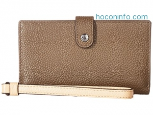 ihocon: COACH Phone Wristlet in Color Block Leather