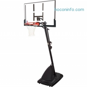 ihocon: Spalding NBA 54 Portable Basketball Hoop with Polycarbonate Backboard - Walmart.com