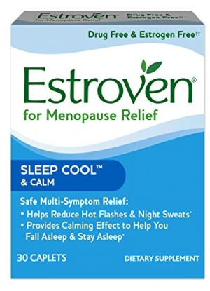 ihocon: Estroven SLEEP COOL + CALM | Menopause Relief Dietary Supplement,30 Caplets 更年期補充劑