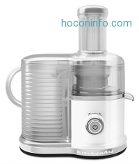 ihocon: KitchenAid KVJ0333WH Easy Clean Juicer, White 榨汁機
