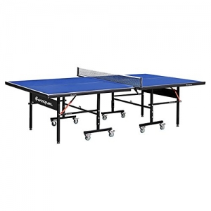 ihocon: Harvil I, Indoor Table Tennis Table with Playback Feature and Locking Wheels乒乓球桌