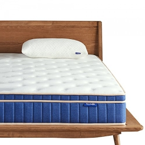ihocon: Sweetnight 8 Inch Individually Pocket Spring Hybrid Mattresses,Gel Memory Foam Euro Pillow Top, Queen 8英寸獨立筒彈簧 / 凝膠記憶棉 混合床墊